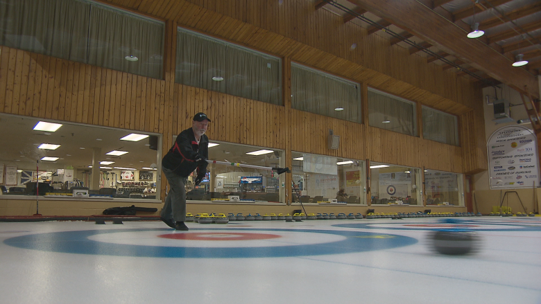 Moncton couple aims for top spot at Maritime Stick Curling Championships