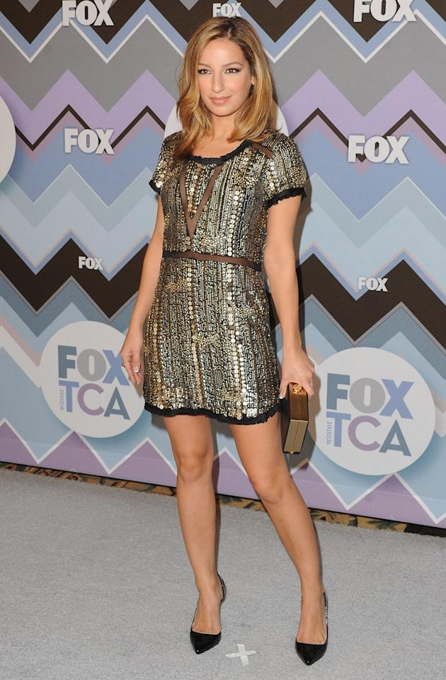 Vanessa Lengies arrives at the 2013 Winter TCA FOX All-Star Party at The Langham Huntington Hotel and Spa on January 8, 2013 in Pasadena, California.
