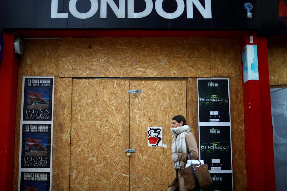<p>Different regions will be placed into different tiers when lockdown ends</p> (REUTERS)