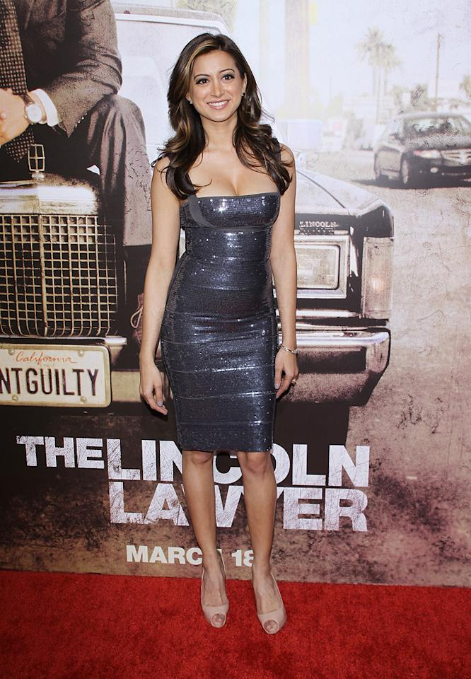 """<a href=""""http://movies.yahoo.com/movie/contributor/1809059798"""">Noureen DeWulf</a> at the Los Angeles premiere of <a href=""""http://movies.yahoo.com/movie/1810088161/info"""">The Lincoln Lawyer</a> on March 10, 2011."""