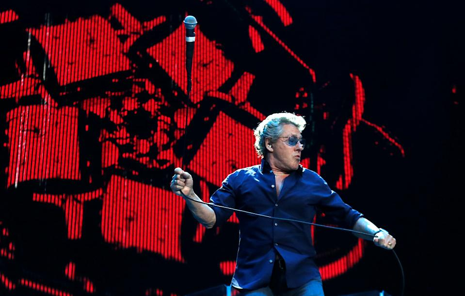 Roger Daltrey of The Who performs at Desert Trip music festival at Empire Polo Club in Indio, California U.S., October 9, 2016.   REUTERS/Mario Anzuoni