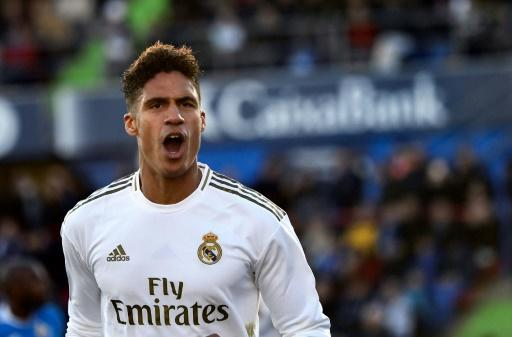 French defender Raphael Varane led the way for Real Madrid