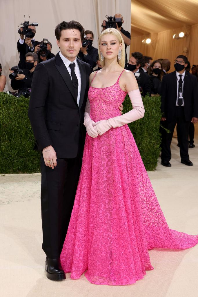 Brooklyn Beckham and Nicola Peltz made their Met Gala debut and totally held their own in the fashion stakes. (Getty Images)