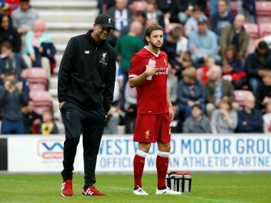 FIFA World Cup 2018: Injured Adam Lallana flies to South Africa to resuscitate bid to play for England