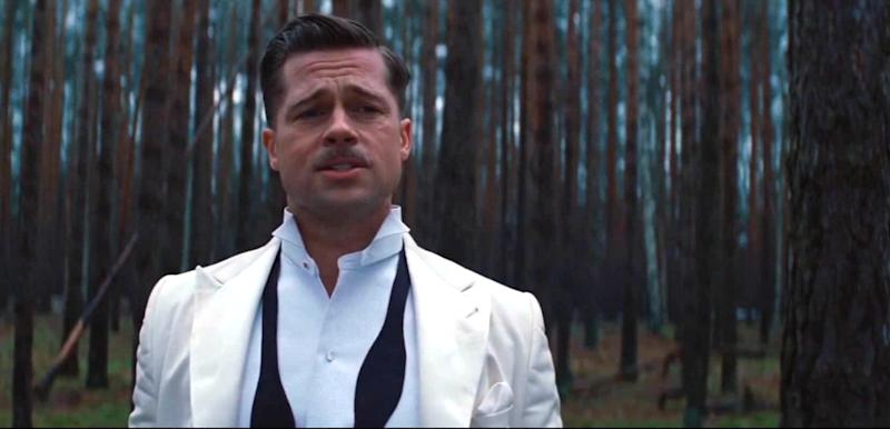 Brad Pitt in Inglourious Basterds (credit: Miramax)