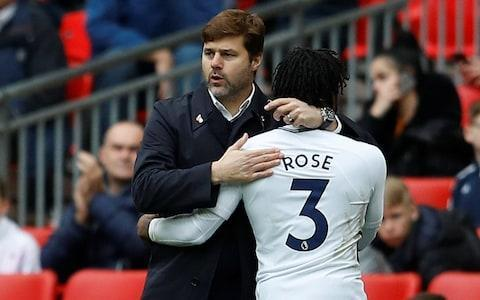 <span>Rose has rediscovered his Tottenham focus after talks with manager Pochettino</span> <span>Credit: REUTERS </span>