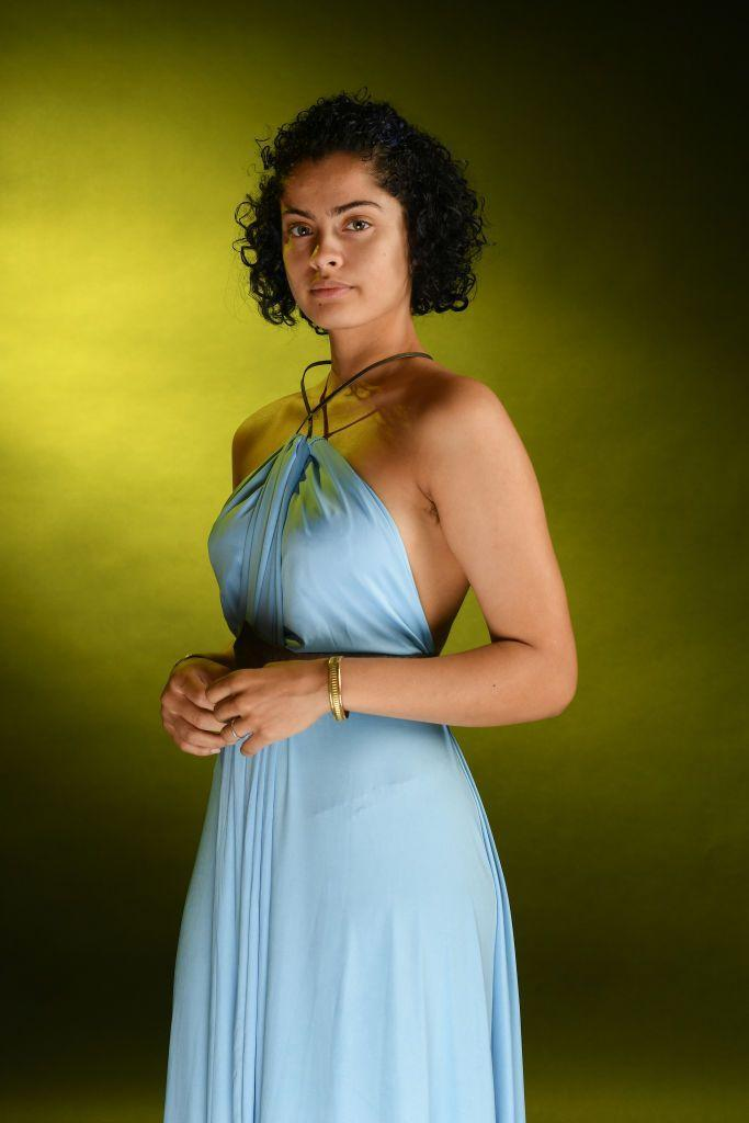 """<p>Missandei is a truly underrated character who met an unjust ending. So pay tribute to this fallen hero with an easy-to-replicate costume. Just place a thick black belt over a flowy, floor-length blue dress and use a thin headband to pull back your hair.</p><p><a class=""""link rapid-noclick-resp"""" href=""""https://www.amazon.com/Transformer-Infinity-Multi-Way-Convertible-Elasticity/dp/B07JR32VL3/?tag=syn-yahoo-20&ascsubtag=%5Bartid%7C10070.g.28762544%5Bsrc%7Cyahoo-us"""" rel=""""nofollow noopener"""" target=""""_blank"""" data-ylk=""""slk:SHOP BLUE DRESS"""">SHOP BLUE DRESS</a></p>"""