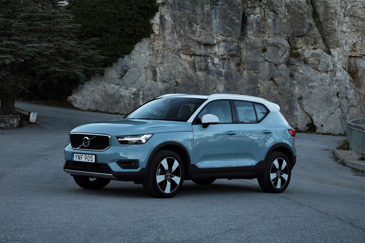 "<p>Stylish, compact, and fun to drive, <a rel=""nofollow"" href=""https://www.caranddriver.com/volvo/xc40"">the Volvo XC40</a> also is the most affordable vehicle in Volvo's lineup. There is nothing down-market about it, however, as its range of turbocharged engines provide plenty of punch, and the suspension is tuned to deliver responsive handling and a comfortable ride. The mid-grade R-design is our pick for its mix of features, performance and design.</p>"