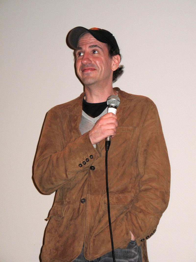 "Sam Lloyd answers questions at the Q & A for the premiere of ""ExTerminators"" on day 1 of the 2009 SXSW Film Conference and Festival on March 13, 2009 in Austin, Texas. (Photo by Jay West/WireImage)"