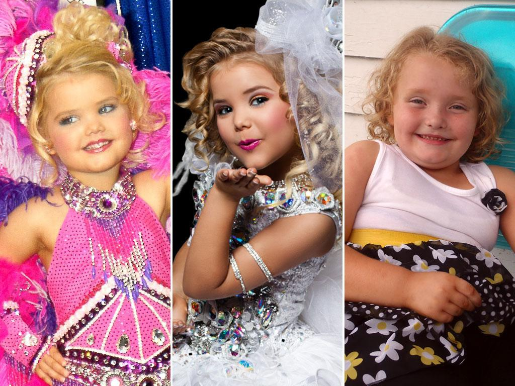 "<b>Idea:</b> ""Let's film those ridiculous kiddie beauty pageants and make stars out of the contestants!"" <br><br><b>That Led To:</b> ""Toddlers & Tiaras"" (TLC, 2009-present)/""Eden's World"" (Logo, 2012-present)/""Here Comes Honey Boo Boo"" (TLC, 2012-present) <br><br><b>Did It Fail Miserably?</b> Sadly, no. TLC's ""Tiaras"" has been happily exploiting tantrum-throwing tykes for five seasons now, and now it's breeding: ""T&T"" breakout star Eden Wood (all of 7 years old) got her own Logo spinoff last year, and now TLC is enjoying big ratings for its own spinoff following 6-year-old Alana Thompson (aka Honey Boo Boo) and her hilarious hillbilly family. Can we put this whole genre in a permanent time-out, please?"