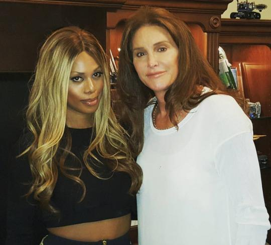 """<p>Caitlyn Jenner and Laverne Cox are finally friends IRL! Though the two transgender icons have publicly bantered on social media and spoken on the phone, they only met in person this past Sunday, at a special screening of Jenner's upcoming E! docu-series, """"I Am Cait."""" The """"Orange Is the New Black"""" star, who wore a crop top and tight skirt, shared photos from the occasion on Instagram. Sixty-five-year-old Jenner dressed down in jeans and a white blouse. They were joined by a number of other well-known trans women, including Candis Cayne, Zackary Drucker, and Jen Richards.<br><br>Following Jenner's """"Vanity Fair"""" cover reveal, Cox wrote an essay on Tumblr about what the visibility means for the LGBTQ community. """"Yes, Caitlyn looks amazing and is beautiful but what I think is most beautiful about her is her heart and soul, the ways she has allowed the world into her vulnerabilities,"""" <a href=""""http://lavernecox.tumblr.com/post/120503412651/on-may-29-2014-the-issue-of-timemagazine"""" rel=""""nofollow noopener"""" target=""""_blank"""" data-ylk=""""slk:the actress wrote"""" class=""""link rapid-noclick-resp"""">the actress wrote</a>. """"The love and devotion she has for her family and that they have for her. Her courage to move past denial into her truth so publicly. These things are beyond beautiful to me.""""</p>"""