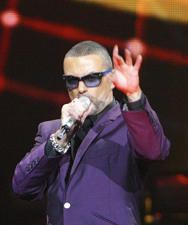George Michael in concert at the Royal Albert Hall