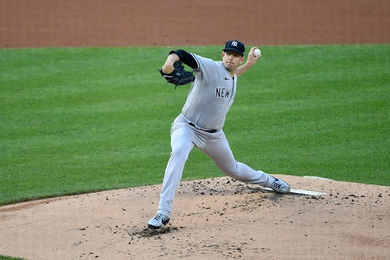 Yankees' James Paxton pitches against Nationals