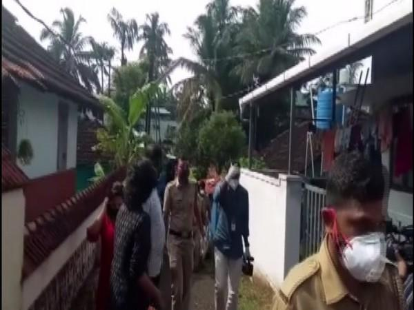 Kerala police conduct raid in various districts after seven killings in Thrussur. Photo/ANI