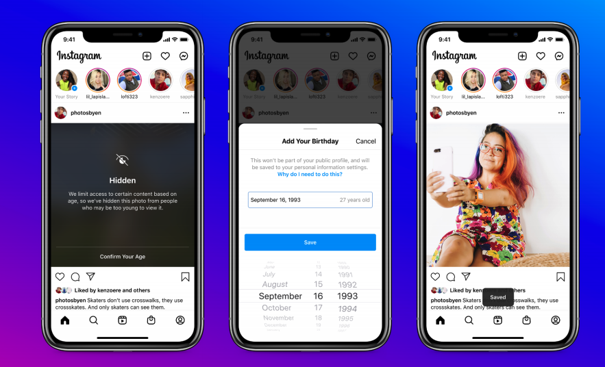 Instagram will block younger users from seeing some