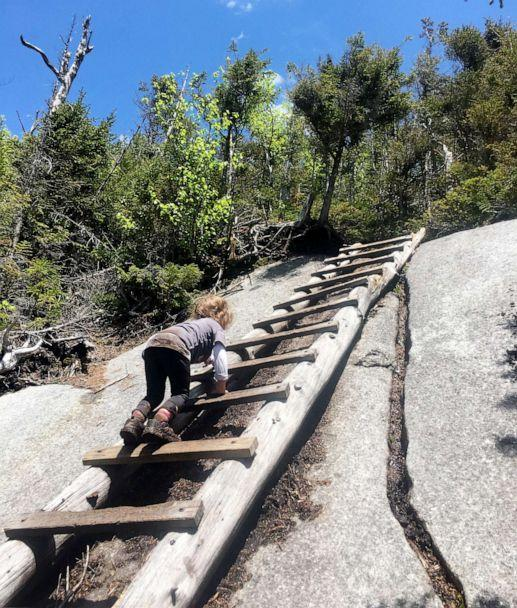 PHOTO: Maebh Nesbitt climbed all 46 high peaks in the Adirondack mountains at just 4 years old. (Courtesy Siobhan Carney-Nesbitt)