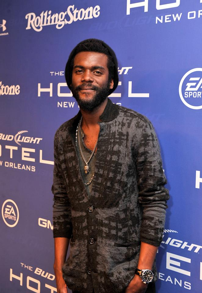 NEW ORLEANS, LA - FEBRUARY 02:  Musician Gary Clark Jr. attends Bud Light Presents Stevie Wonder and Gary Clark Jr. at the Bud Light Hotel on February 2, 2013 in New Orleans, Louisiana.  (Photo by Stephen Lovekin/Getty Images for Bud Light)