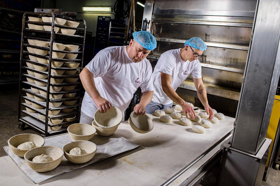 <p>Frankonia Bakery in action in south west London</p> (Frankonia Bakery )