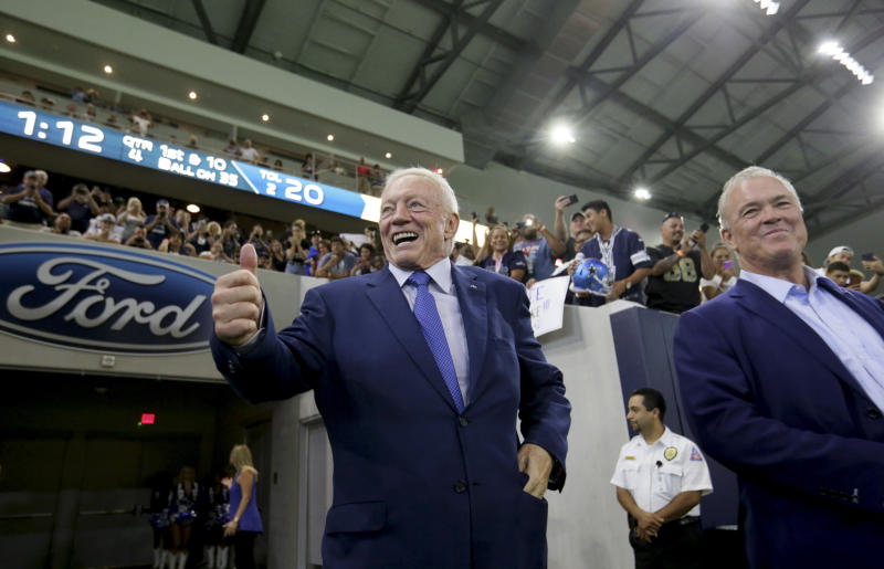 Cowboys owner Jerry Jones on NFL's plans to break into the Chinese market:
