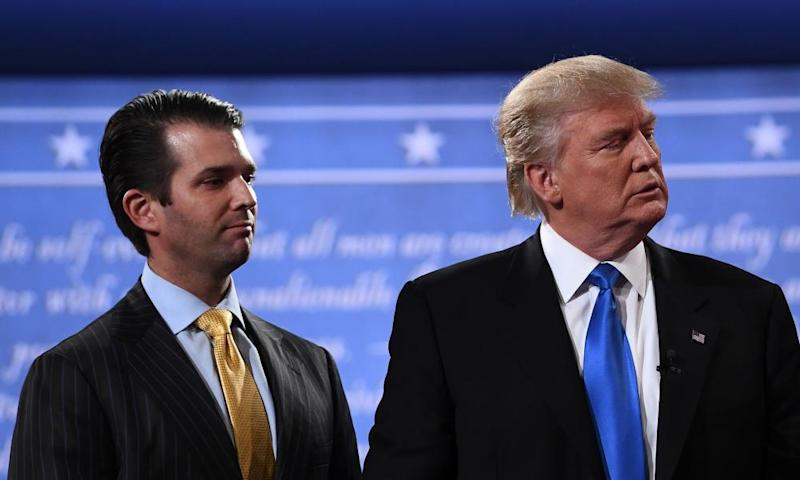 Donald Trump and his son, Donald Jr.