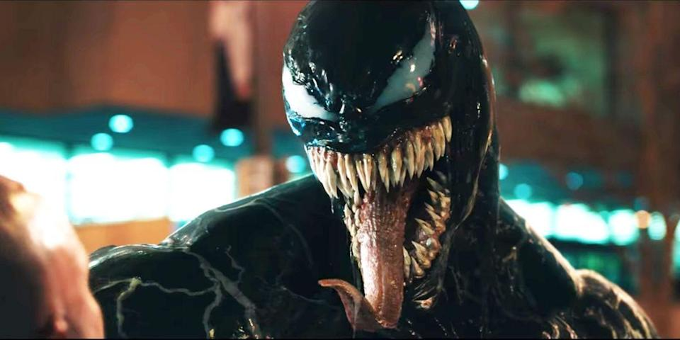 <p>Tom Hardy reprises his title role for <em>Venom 2, </em>with Woody Harrelson set to take on the part as the central villain, Carnage. The two will face-off when the action flick hits theaters in June 2021.</p>