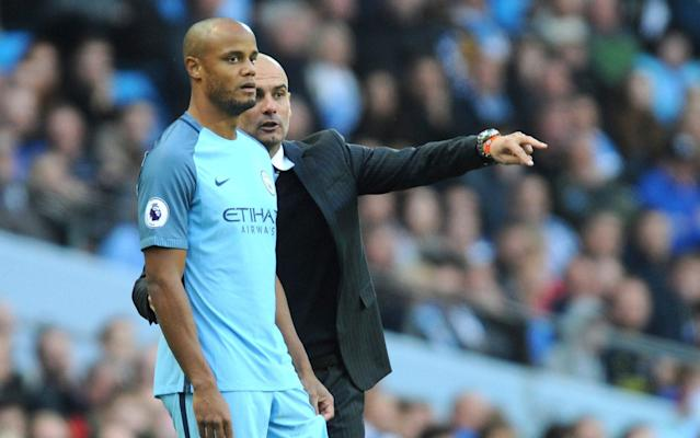 <span>Vincent Kompany as spent months on the treatment table</span> <span>Credit: AP </span>