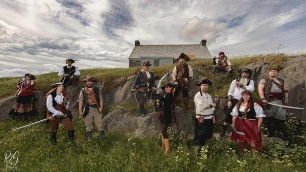The Raiders of the Avalon Pirate Crew is a new collective of marauders that has quickly grown to more than 160 members. (R&S Photo/Submitted by Rod Hand - image credit)