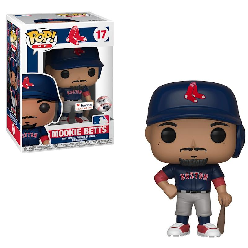 Funko Betts Red Sox Pop! Figurine