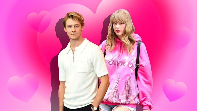 Taylor Swift & Joe Alwyn Are *Finally* Embracing PDA With This Kiss at the NME Awards