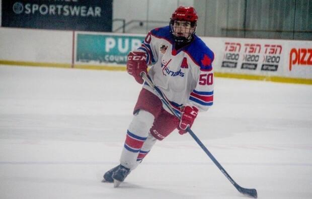 Cédrick Guindon of Rockland, Ont., has been drafted by OHL's Owen Sound Attack, but he has yet to play a single game for his new team (Marie-Josee Duval Berini - image credit)