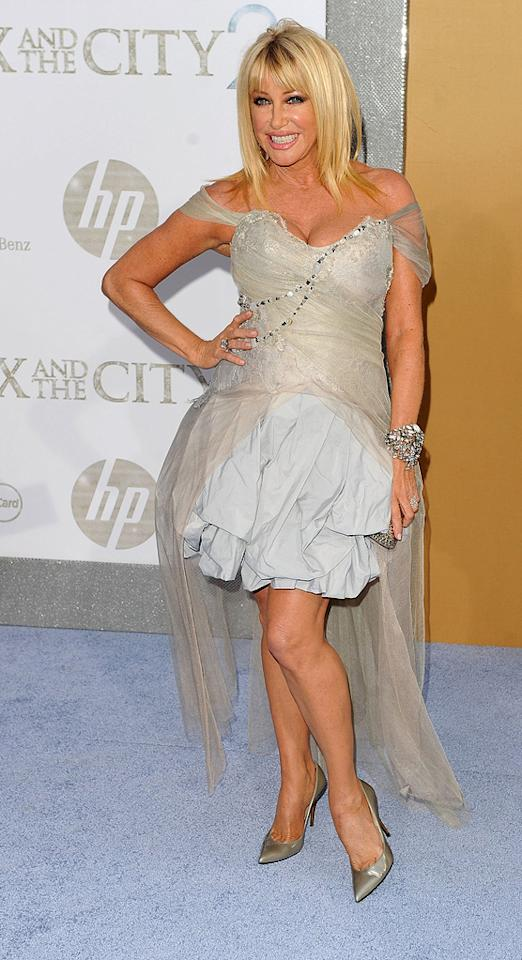 """<a href=""""http://movies.yahoo.com/movie/contributor/1800017121"""">Suzanne Somers</a> at the New York City premiere of <a href=""""http://movies.yahoo.com/movie/1810111276/info"""">Sex and the City 2</a> - 05/24/2010"""