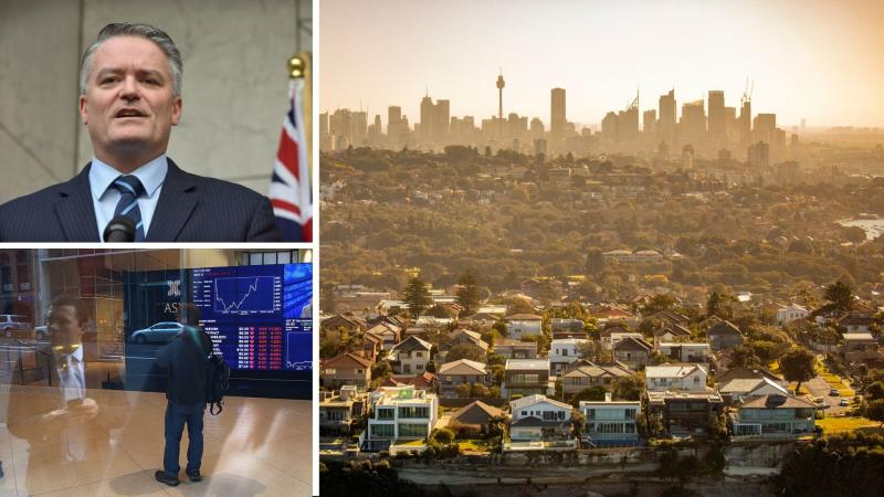 Finance Minister Mathias Cormann has shared details of the upcoming second stimulus package as Australia prepares for another turbulent day on the share market. Images: Getty