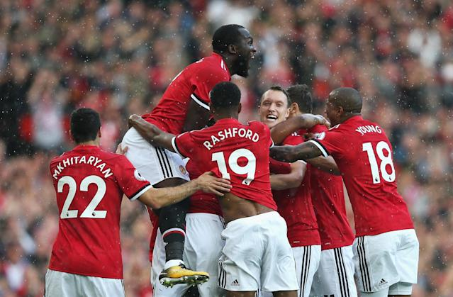 Antonio Valencia's goal was one to celebrate. (Getty Images)