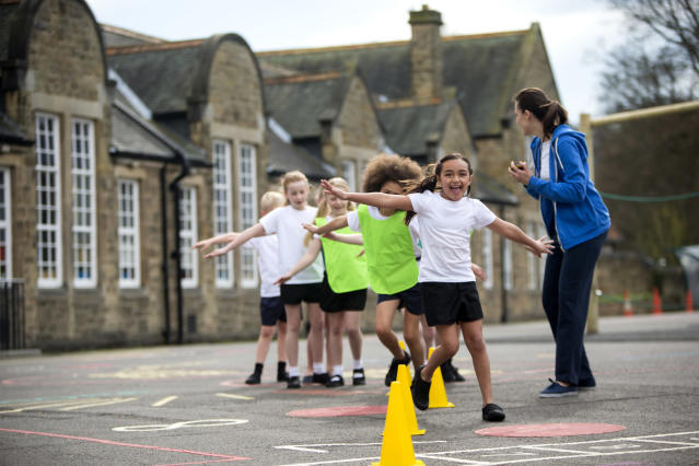 Experts are now calling for measures to try to increase children's physical activity [Photo: Getty]