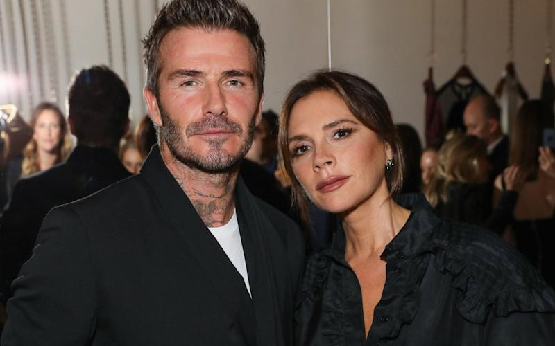 The Beckhams allegedly came down with coronavirus a few months ago - Darren Gerrish/WireImage