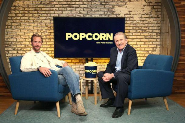 PHOTO: Alexander Skarsgard appears on 'Popcorn with Peter Travers' at ABC News studios, Oct. 15, 2019, in New York City. (Emilie Richardson/ABC News)