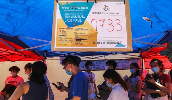 Primary elections, such as the one organised by Hong Kong's opposition, run the risk of confusing the populace, a new Electoral Affairs Commission report says. Photo: Dickson Lee