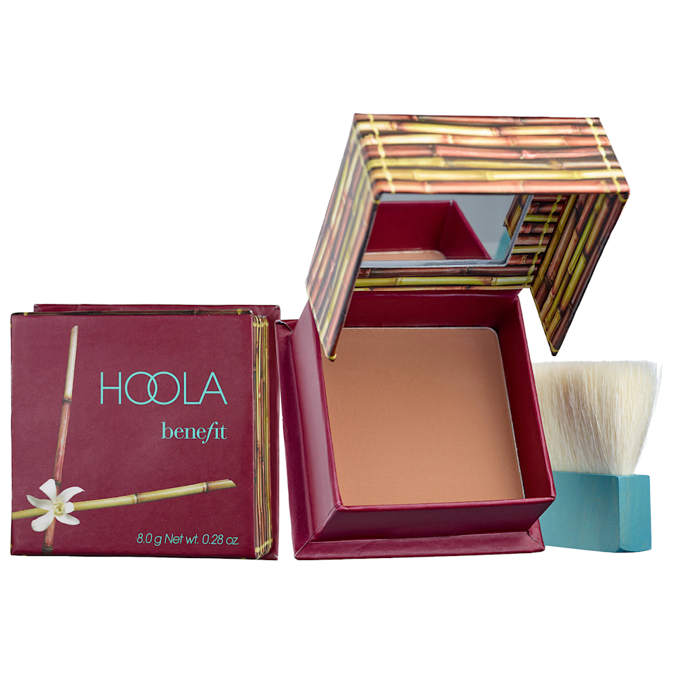 """You really can't beat a classic. Hoola is well loved for it's insanely easy to blend texture, totally matte finish, and the fact that it's cool enough to realistically contour with and also warm enough to make you look vacation ready. After years of offering a single shade, the brand now has options for a range of skin tones. $30, Benefit Cosmetics. <a href=""""https://shop-links.co/1713085258447800912"""" rel=""""nofollow noopener"""" target=""""_blank"""" data-ylk=""""slk:Get it now!"""" class=""""link rapid-noclick-resp"""">Get it now!</a>"""