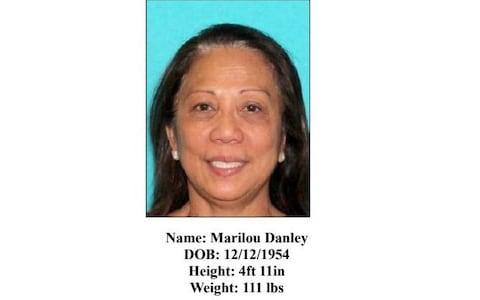 "Marilou Danley - is being sought as a ""person of interest"" - Credit: Las Vegas Metropolitan Police Department"