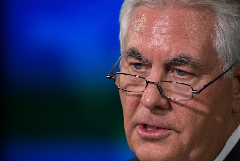 US Secretary of State Rex Tillerson ran ExxonMobil for 10 years and used a fake name, Wayne Tracker, to discuss climate change: Getty