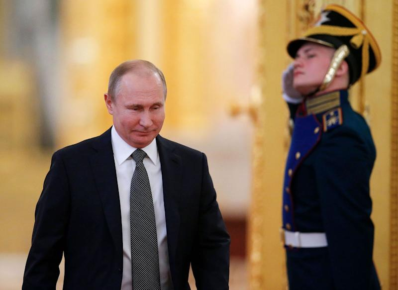 Putin Starts New Term With Same Premier Amid Tensions Abroad