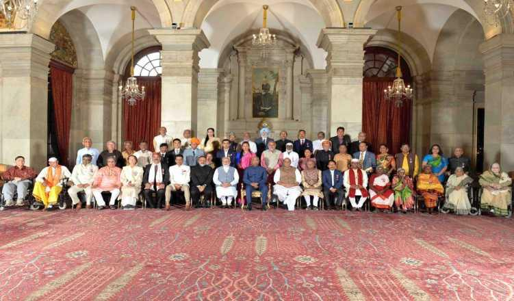 President Kovind Confers Padma Awards to 54 noted citizens