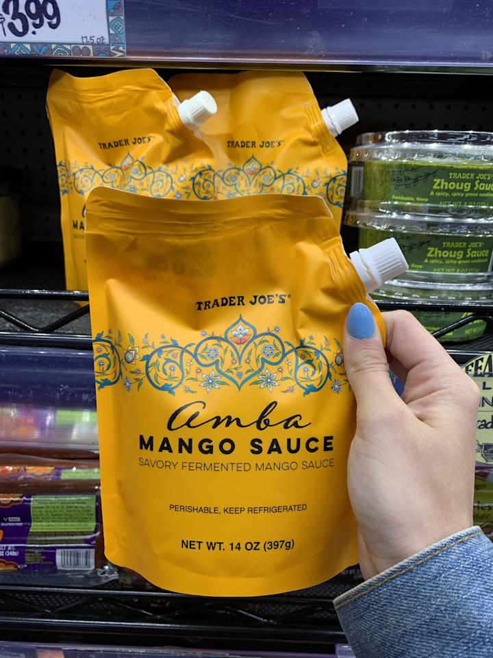 <p>You can use this fermented mango sauce as a dressing or a marinade - the possibilities are endless, so get creative.</p>