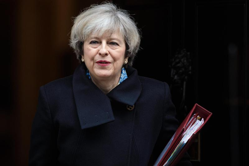 Renewed pressure: Prime Minister Theresa May: Getty Images