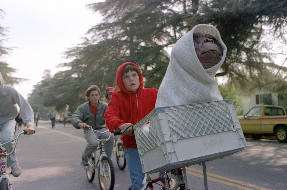 <p>If you could only see one movie in 1982, Steven Spielberg's <em>E.T. the Extra Terrestrial</em> was the one to beat. Not only did the film launch Drew Barrymore's career at the age of seven, but the tale of friendship between Elliot and E.T. remains iconic to this day. </p>