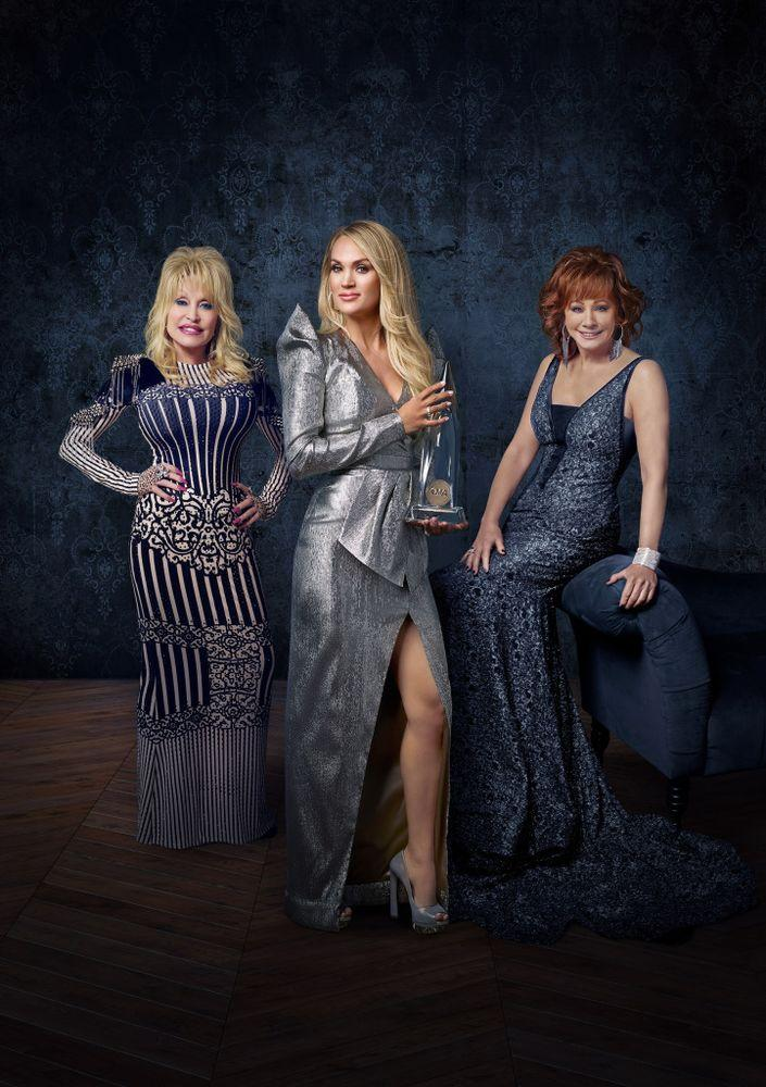 Dolly Parton, Carrie Underwood, Reba McEntire   Mark Seliger/ABC