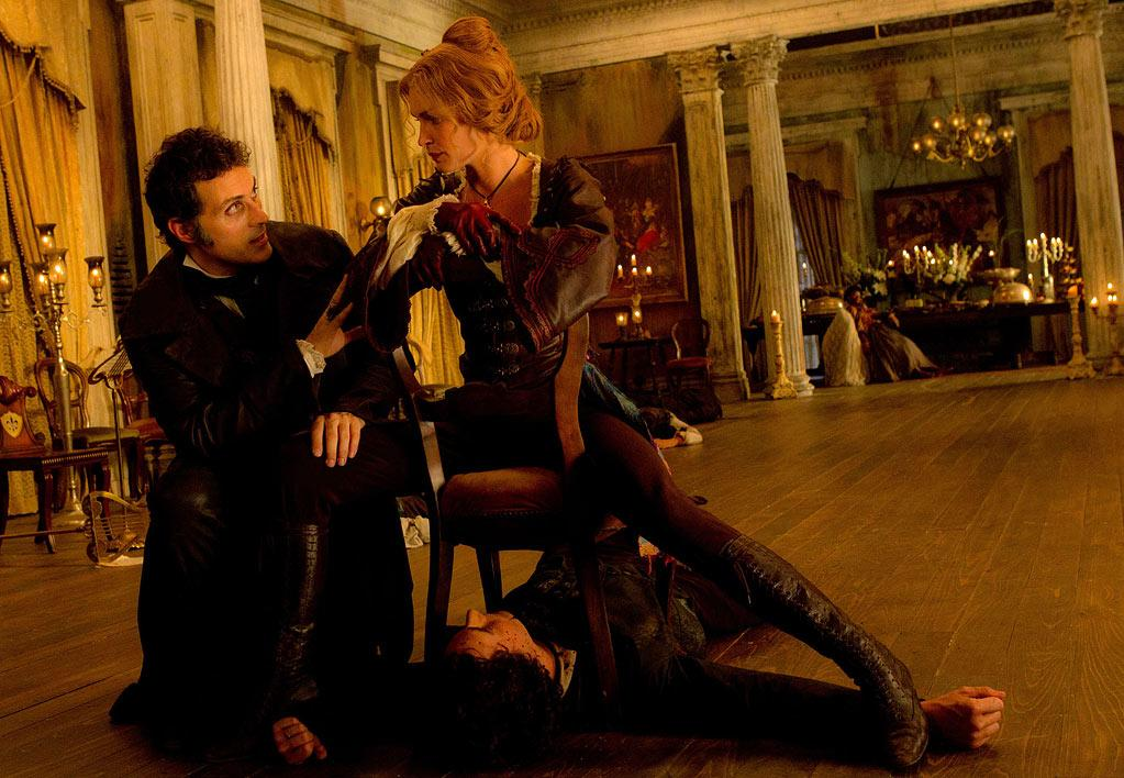 """<b>Vampires</b><br> Judging from the title alone, it's pretty easy to tell who the villains in """"Abraham Lincoln: Vampire Hunter"""" are. Refusing to admit he's playing into a trend, producer (and famed director) Tim Burton <a href=""""http://movies.yahoo.com/video/ymovies-6393699/dark-shadows-insider-access-29268043.html"""">told Yahoo! Movies</a> that he's been into vampires since he was five years old. """"Vampires are such an image where you can kind of portray it hundreds of different ways, which is why I think they're so powerful,"""" Burton said. """"Vampire Hunter"""" flies into theaters on June 22nd."""