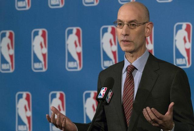 NBA commissioner Adam Silver (AP)