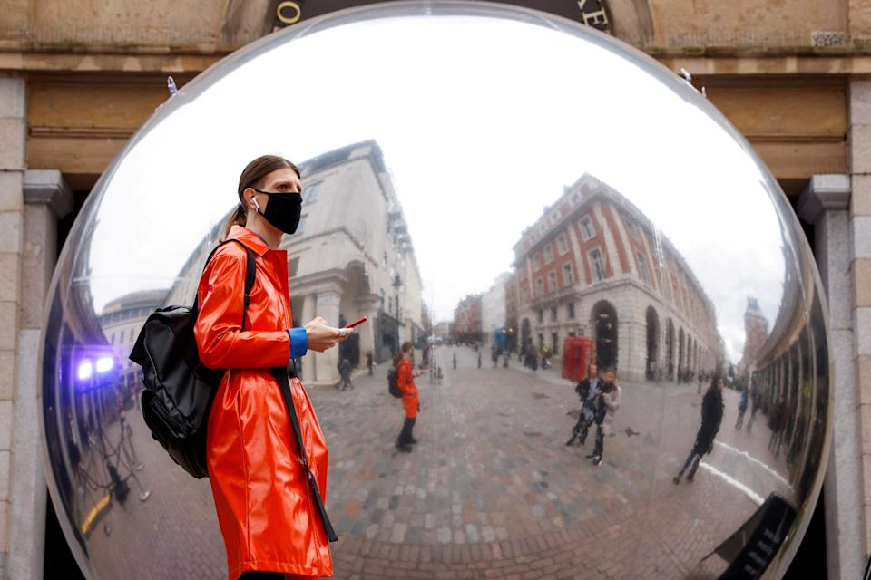 Face masks have become compulsory in many places in order to stop the spread of coronavirus. (REUTERS)