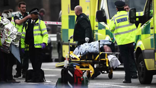 MPs and politicians react to Westminster attack on social media